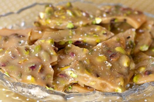 Pistachio Brittle Recipe — Dishmaps