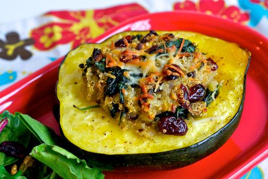 Quinoa Stuffed Acorn Squash — Erin Cooks