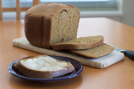 molasses bread machine recipe