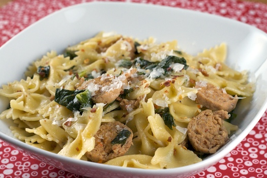 ... sausage and kale pasta bake shell pasta with sausage and greens pasta