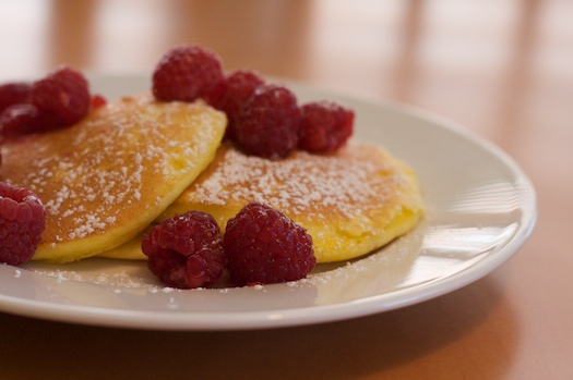 Hissy Fit Inducing Lemon-Ricotta Pancakes